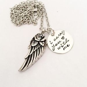 Jewelry - Hand Stamped Memorial necklace